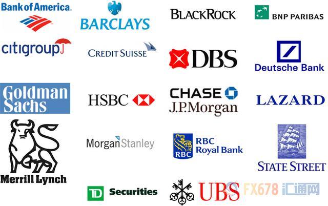 每天了解金融知識——世界十大投行