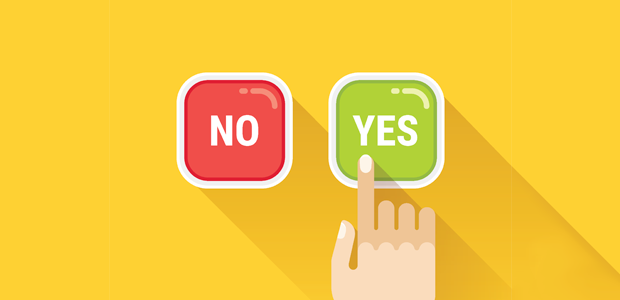 Image result for yes no