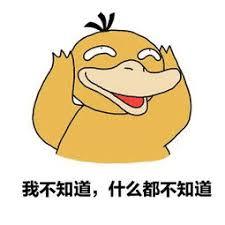 Image result for 我不知道