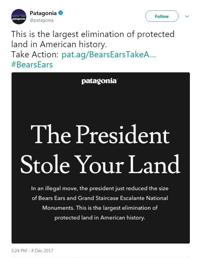 巴塔哥尼亞總統的圖像結果偷了你的土地