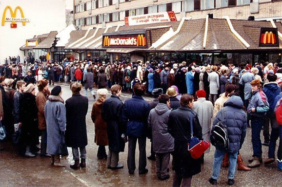 Image result for mcdonalds crowd