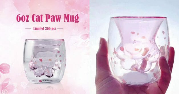 Image result for starbucks cat paw cup