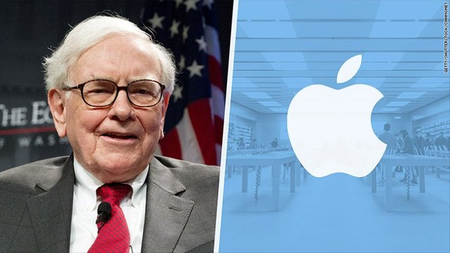 圖像結果為warren Buffett apple