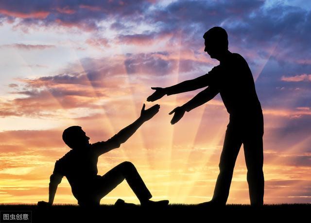 """人生""""三十年河東,三十年河西"""",請善待你落難的朋友"""